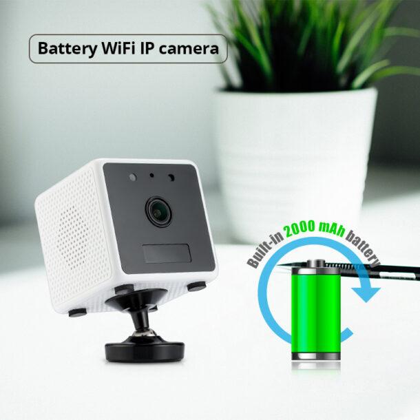 автономная камера видеонаблюдения с аккумуляторной батареей