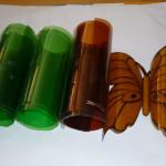 бабочки из пластиковых бутылок 2