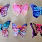 бабочки из пластиковых бутылок 3