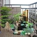 балкон с фонтанами 1
