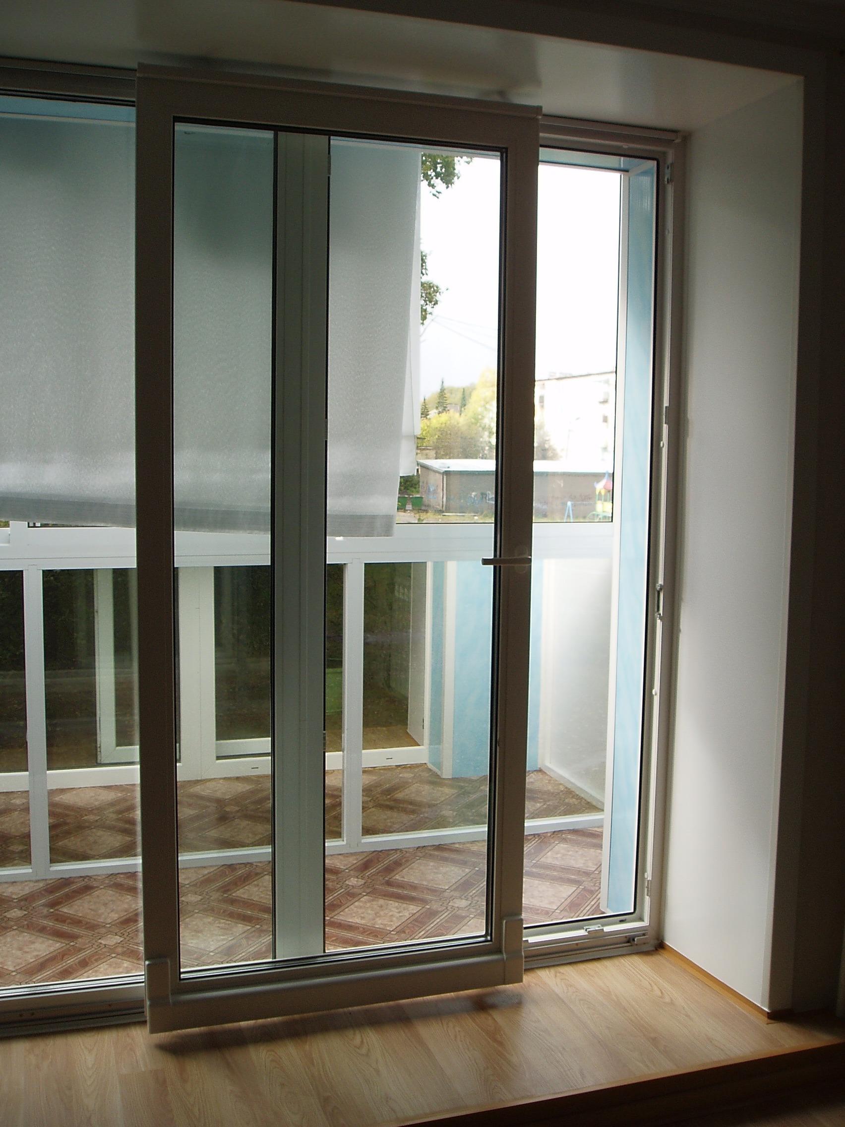 балконная дверь раздвижная