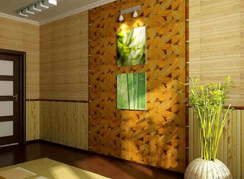 бамбуковые обои 3