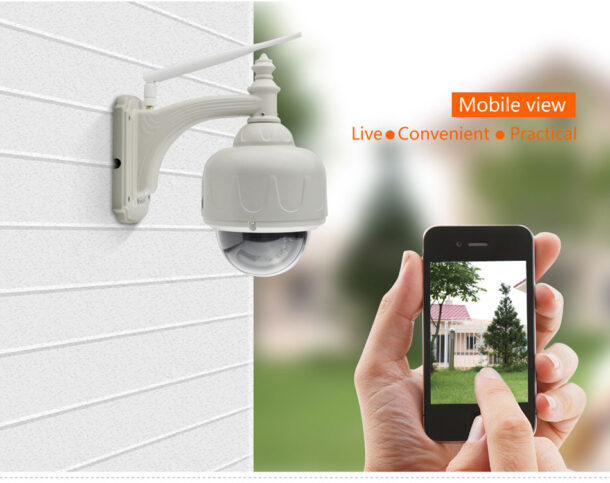 Беспроводная камера уличного видеонаблюдения
