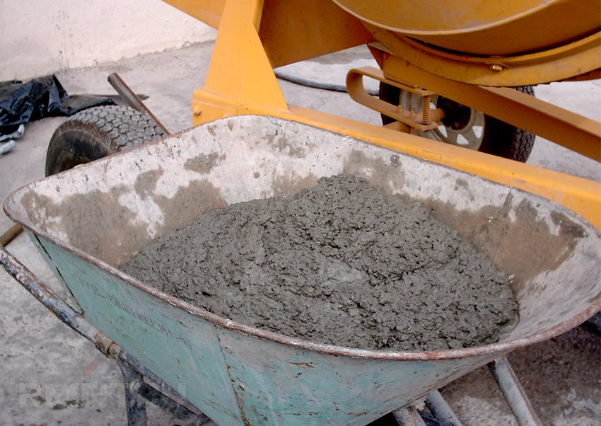 бетонная дорожка подготовка бетона