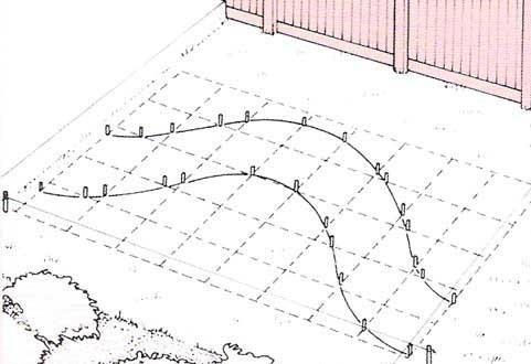 бетонная дорожка проектирование 3