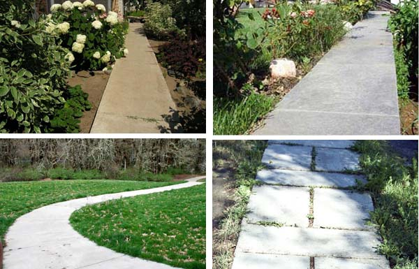 Укладка садовых дорожек из бетона своими руками