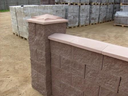 бетонные крышки для заборов