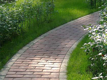 бетонный бордюр для садовых дорожек 3