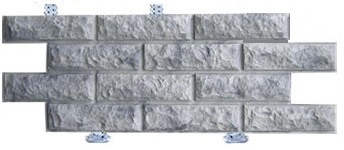 бетонный сайдинг для фасада дома