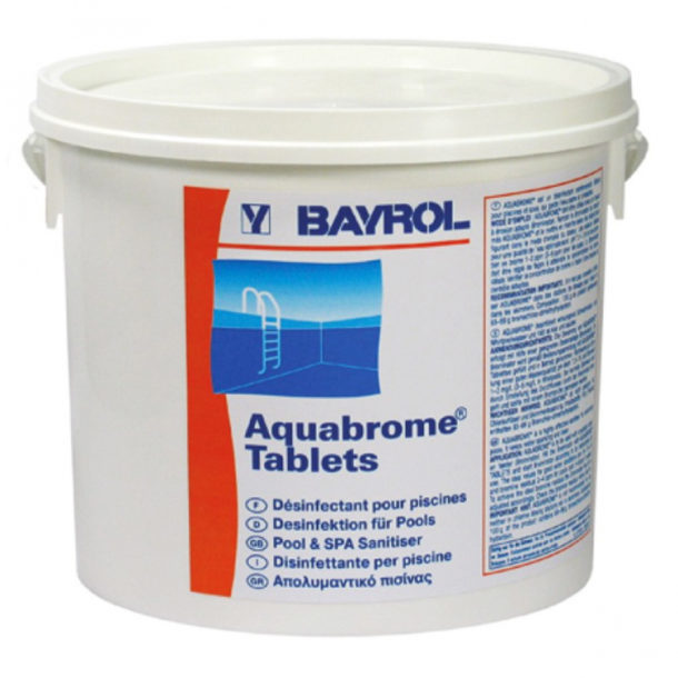 Таблетки Аквабром для дезинфекции бассейна