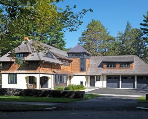 частный дом в американском стиле