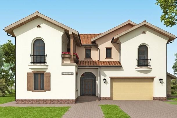 частный дом в итальянском стиле