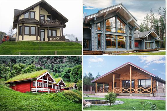 частный дом в скандинавском стиле