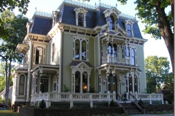 частный дом в стиле барокко