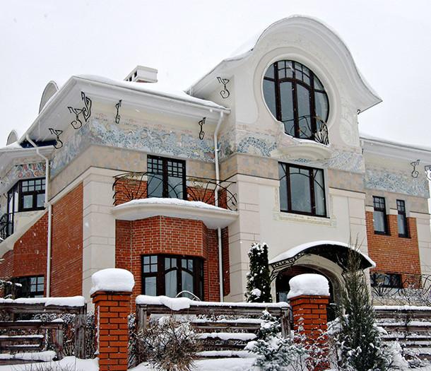 частный дом в стиле модерн