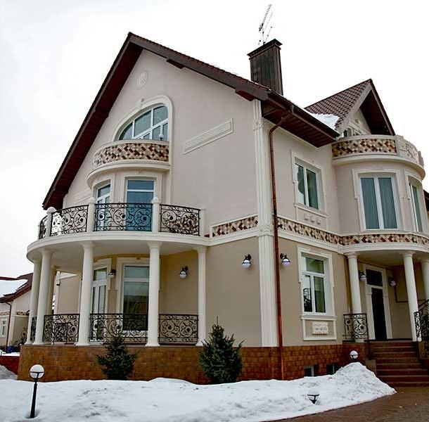 частный дом в стиле ренессанс