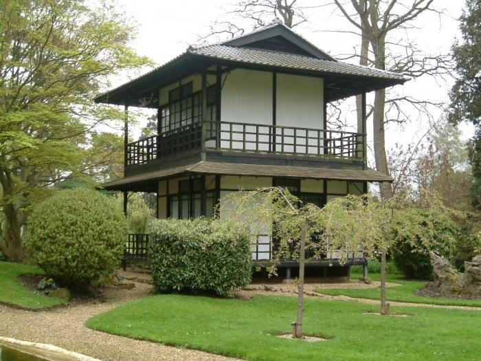 частный дом в восточном стиле