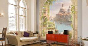 7 советов по выбору фотообоев-фрески (цифровая фреска), отличия от фотообоев, особенности поклейки