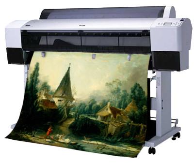 цифровая фреска производство