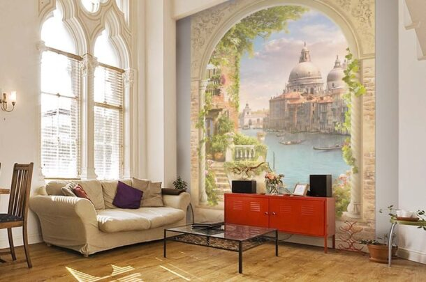 современная цифровая фреска
