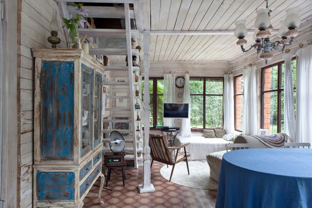 дачный дом в стиле шебби шик