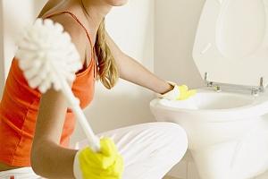 17 способов, как отмыть унитаз от камня и желтого налета