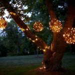 декоративное освещение дачного участка 3