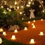декоративное освещение дачного участка 5