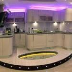 декоративное освещение кухни 3
