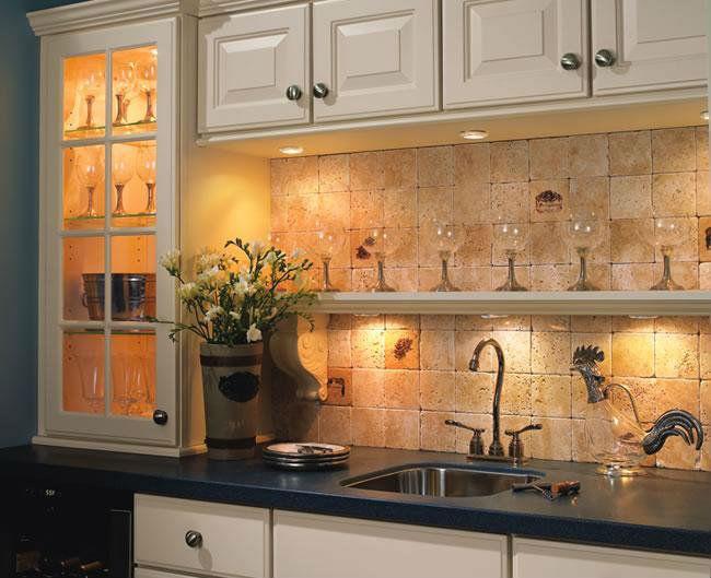 декоративное освещение кухни 5
