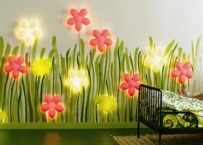 декоративное освещение в детской 2