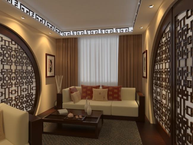 декоративное освещение в гостиной 3