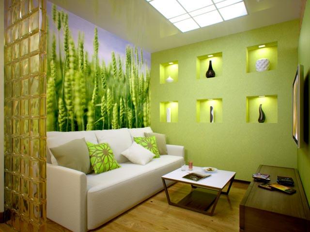 декоративное освещение в гостиной