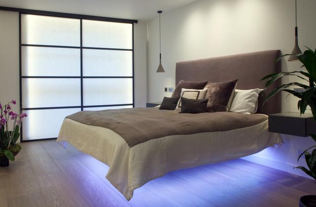 декоративное освещение в спальне 2