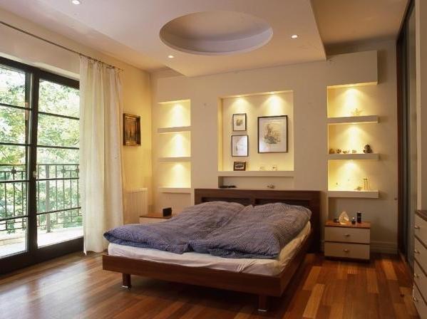 декоративное освещение в спальне 3