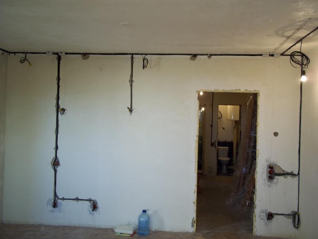 демонтажные работы в гостиной 3