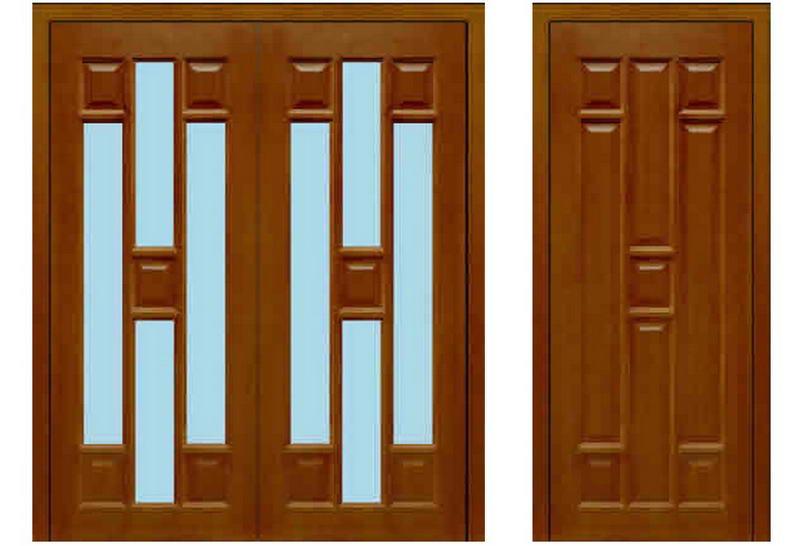 деревянная межкомнатная дверь