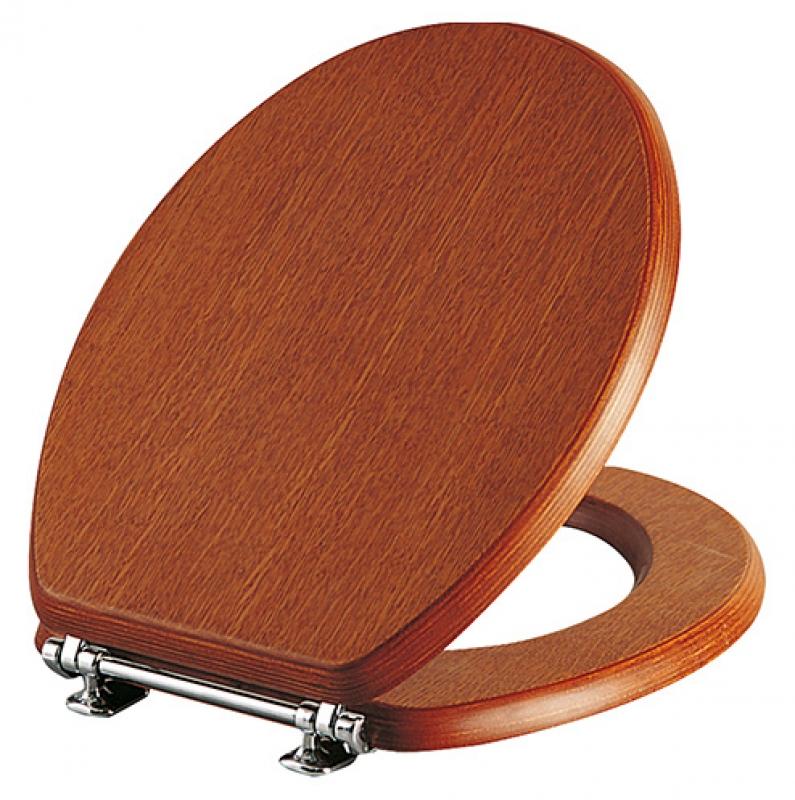 деревянное сиденье для унитаза