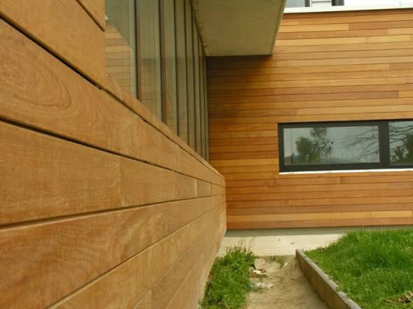 деревянный сайдинг для фасада дома