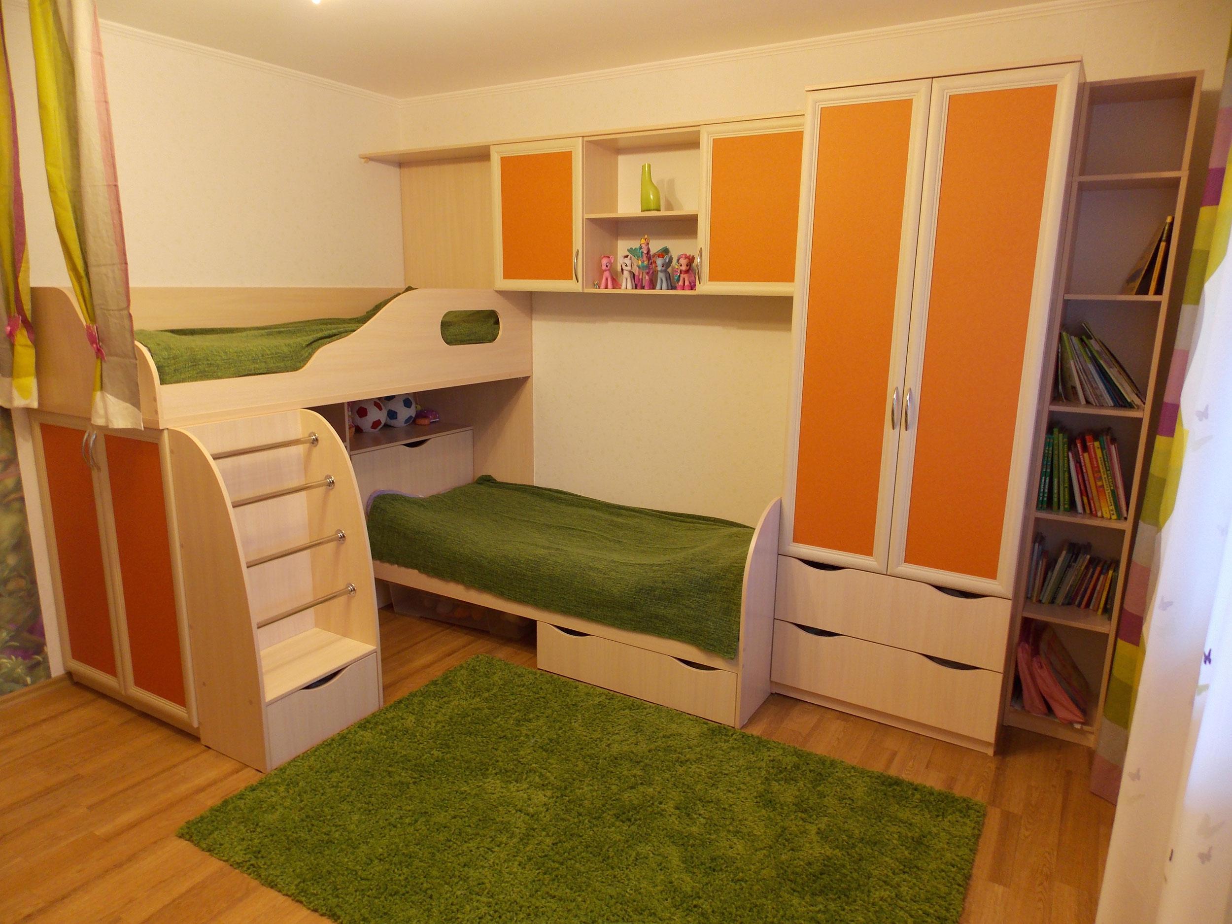 детская комната для двоих 2