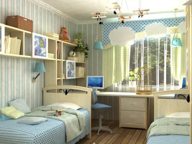 детская комната для двоих 4