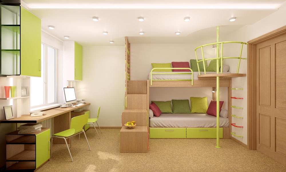 6 полезных советов по расположению мебели в детской
