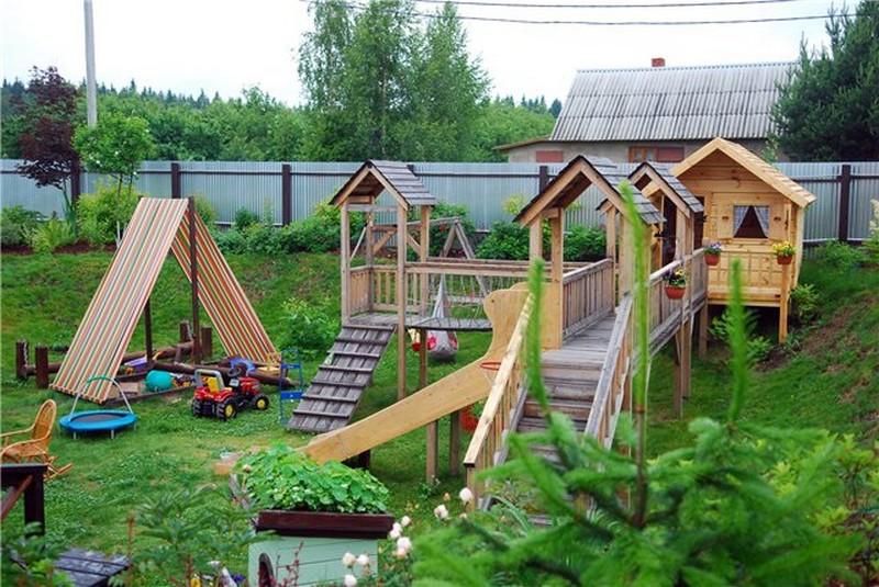 детская площадка на даче 2
