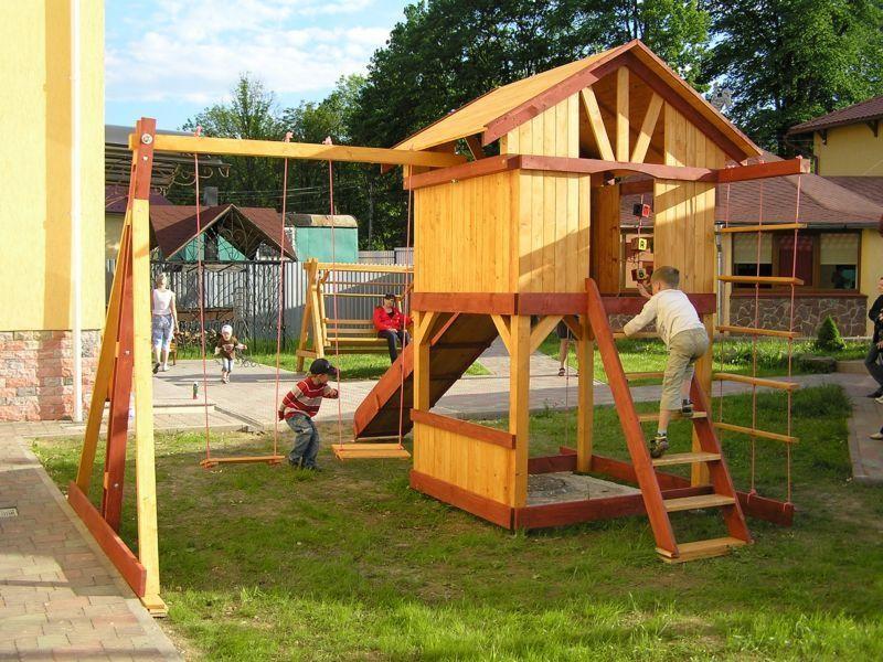детская площадка на даче игровой комплекс 4