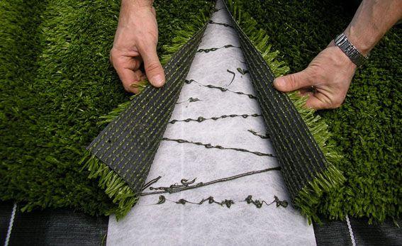 детская площадка на даче искусственный газон