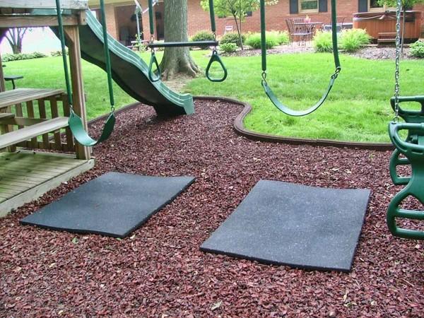 детская площадка на даче кора