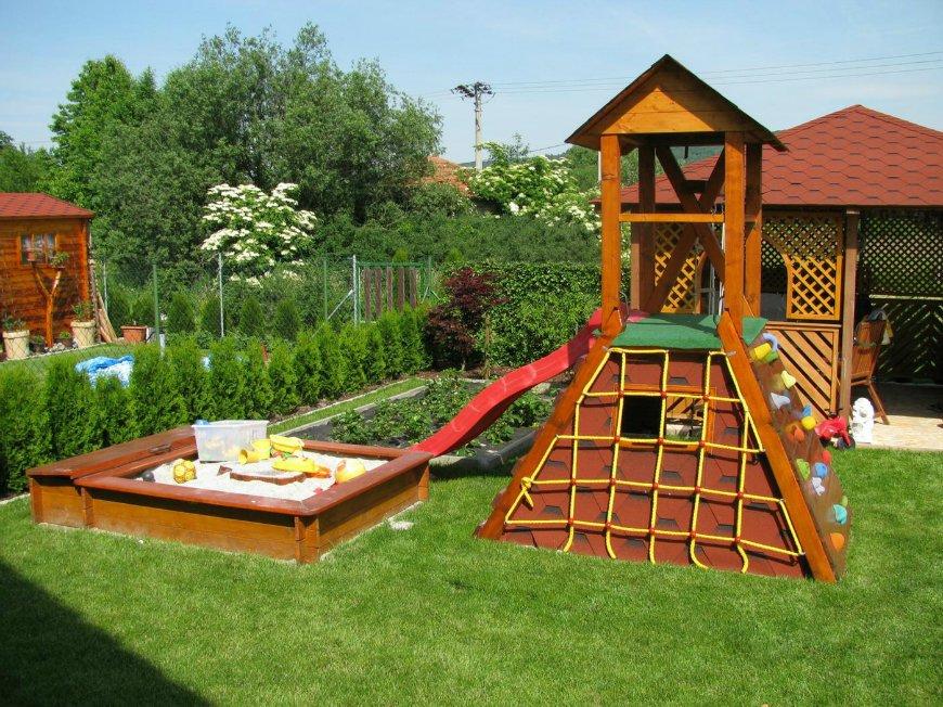 детская площадка на даче оснащение