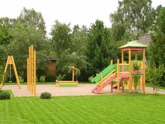 детская площадка на даче размер 3