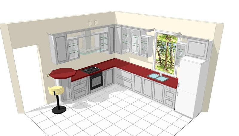 Сделать самой дизайн кухни онлайн 59