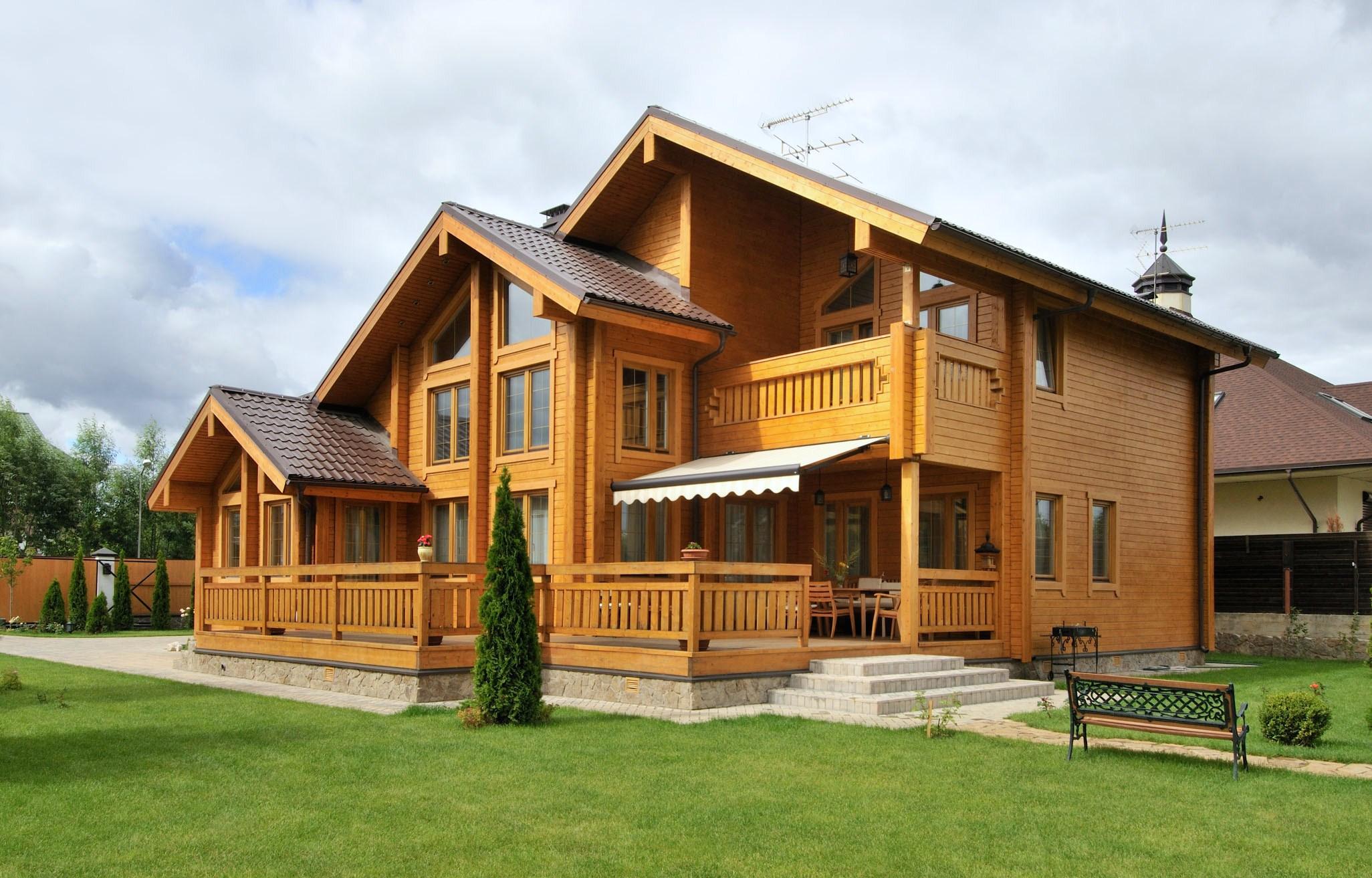 Дом из бруса - стоимость строительства своими руками